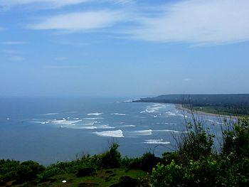 Chapora fort sea meeting river.jpg