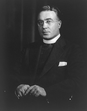 Eugenio Pacelli's 1936 visit to the United States - Rev. Charles Coughlin, a prominent radio critic of Roosevelt's, was silenced by Pacelli's visit.