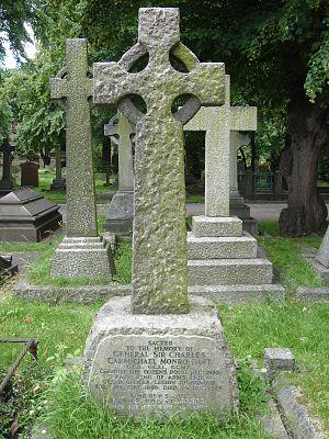 Sir Charles Monro, 1st Baronet - Funerary monument, Brompton Cemetery, London.