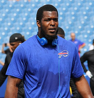 Charles Clay (American football) - Clay with the Buffalo Bills in 2015