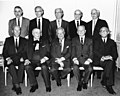 Charles Zimmerman, Luigi Antonini, David Dubinsky, Louis Stulberg, Leon Stein, and other living members of the 1940s General Executive Board (5279936424).jpg