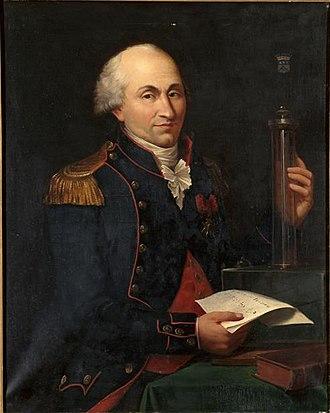 Charles-Augustin de Coulomb - Portrait by Hippolyte Lecomte