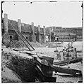 Charleston Harbor, South Carolina. Interior view of Fort Sumter LOC cwpb.03072.jpg