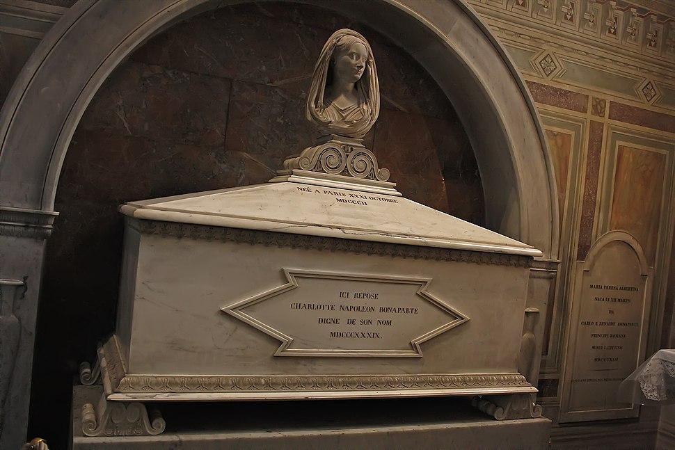 Charlotte Bonaparte Tomb