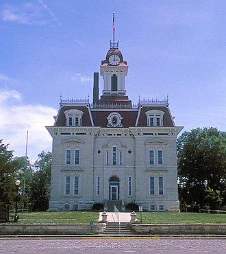National Register of Historic Places listings in Kansas - Chase County Courthouse