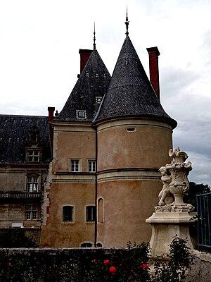Français : Le château de Fléville, Meurthe-et-...