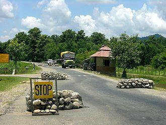 Mahendra Highway - checkpoint of Nepalgunj to Tikapur