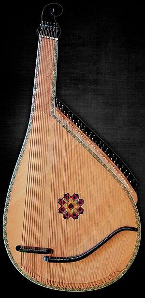 Bandura - Image: Chernihiv style bandura