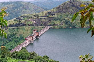 Cheruthoni - Cheruthoni dam