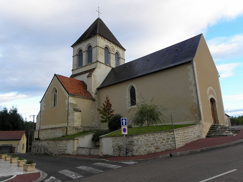 Église Saint-Martin de Chevenon (58).