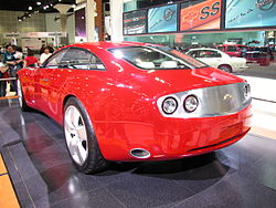 Chevrolet SS concept (rear) at the 2004 Los Angeles Auto Show