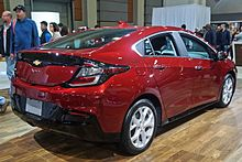2017 Model Year Chevrolet Volt
