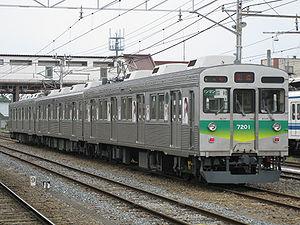 Chichibu Main Line - Image: Chichibu railway 7001 20090505
