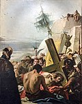 Chiesa di San Polo (Venice) - VIA CRUCIS IX - Jesus falls the third time.jpg