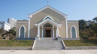 Chilgol Church Church in Pyongyang, North Korea