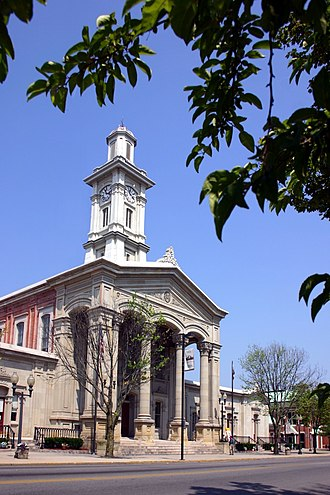 Ross County, Ohio - Image: Chillicothe ohio ross county courthouse 2006