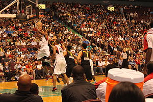 Rogers Arena - Rogers Arena during an exhibition basketball game between the Canada and China in 2010