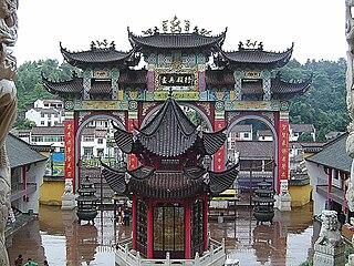 Shrine of Living Buddha
