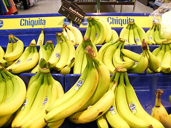 English: Chiquita bananas.