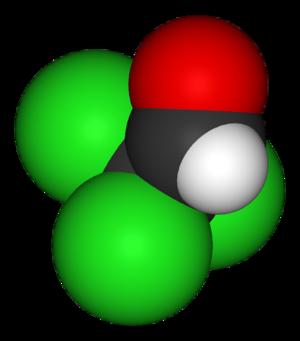 Chloral - Image: Chloral 3D vd W