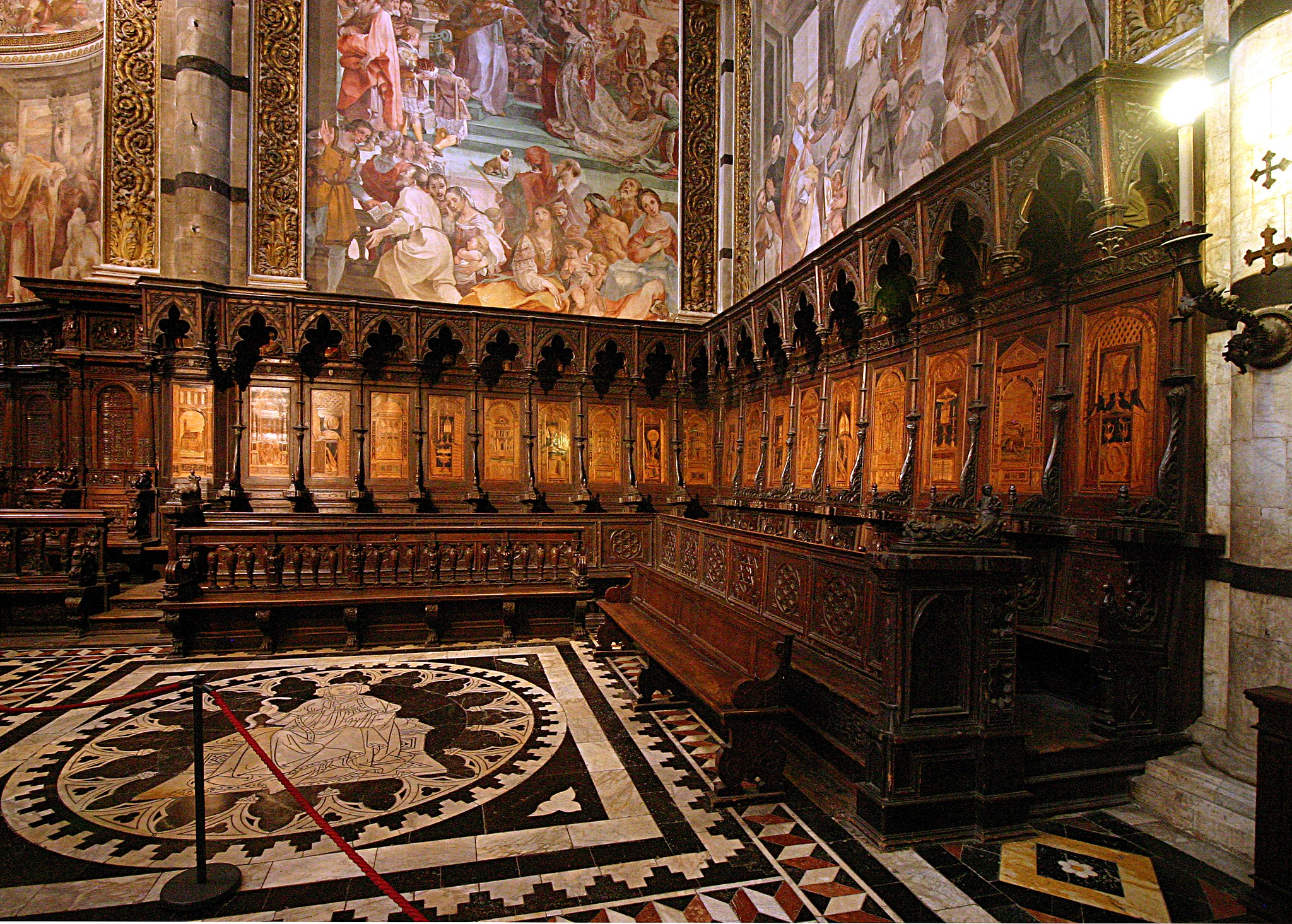 Choir - Duomo - Siena 2016