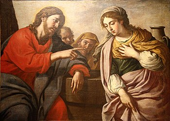 """Christ and the Samaritan Woman"" by ..."