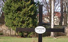 Grabkreuz von Christian August Vulpius auf dem Historischen Friedhof Weimar (Quelle: Wikimedia)