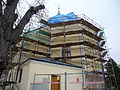 Church of Saint Nicholas Fryšták with scaffolding (8).jpg