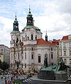 Church of St Nicholas of Old Town in Prague General View.JPG