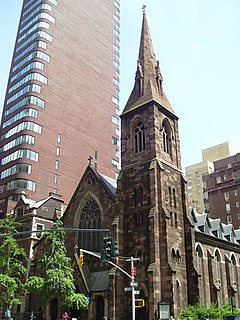 Church of the Incarnation, Episcopal (Manhattan) United States historic place