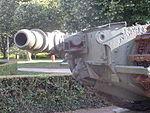 Churchill Crocodile tank, flamethrower fuel pipe 2.JPG
