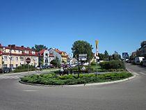 Ciechanowiec - Układ przestrzenny miasta.JPG