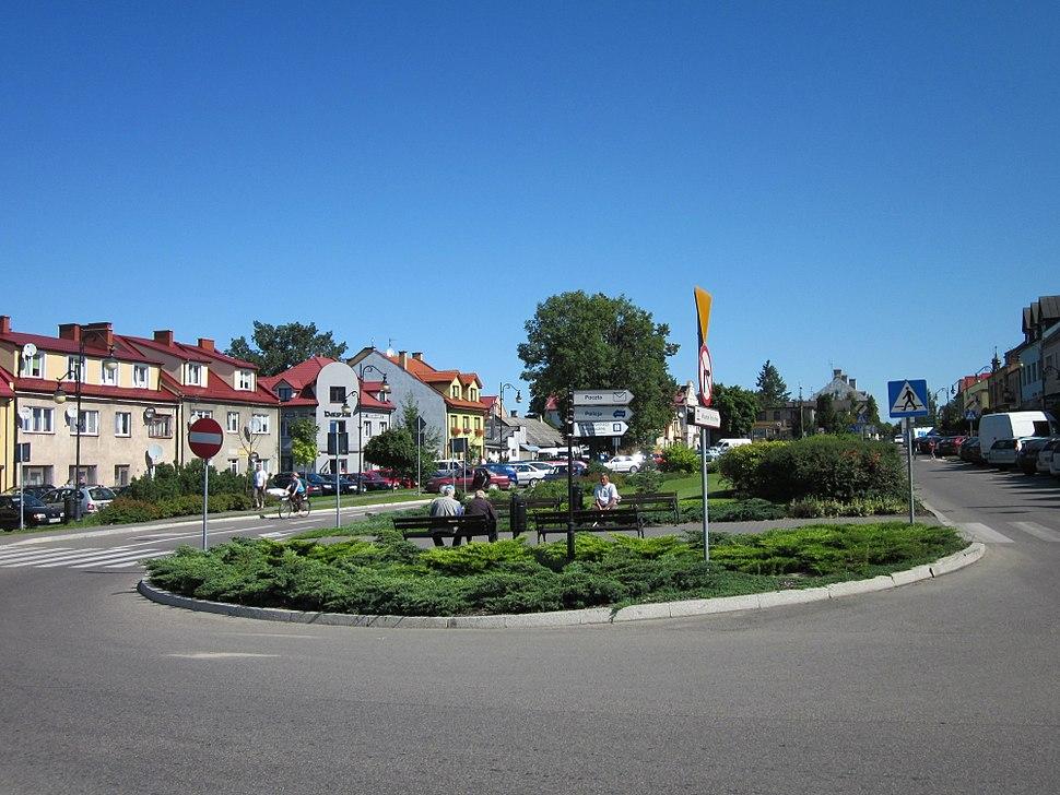 Ciechanowiec - Układ przestrzenny miasta