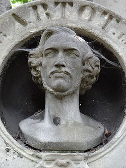 Cimetière de Montmartre - Tombe Alexandre-Joseph Artot -1.JPG