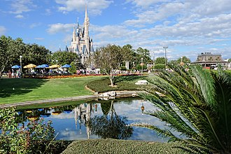 Walt Disney World - Magic Kingdom, the world's most visited theme park