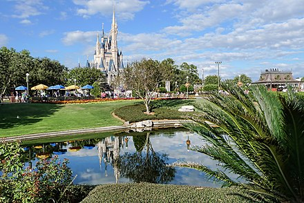 Magic Kingdom, the world's most visited theme park Cinderella Castle at Magic Kingdom - 6483694035.jpg