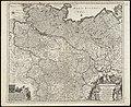 Circulus Saxoniae inferioris in quo sunt ducatus Holsatiae, Mecklenburgi, Lauwenburgi, Luneburgi, Brunsuigi, Bremae et Ferdae, comitatus Dannebergi, archiepiscopatus Maegdenburgensis, episcopatus Hildesiae et Halberstad (8342803799).jpg