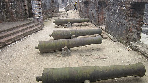 Citadelle in Haiti, cannons