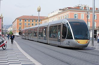 Alstom Citadis - A Citadis 402 in Nice