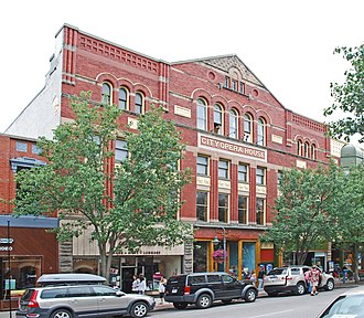 National Register of Historic Places listings in Grand Traverse County, Michigan - Image: City Opera House Traverse City MI
