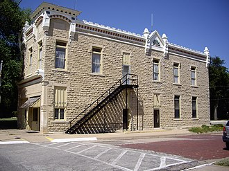 Peabody, Kansas - Image: City Hall in Peabody, Kansas