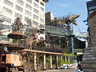 City Museum outdoor structures