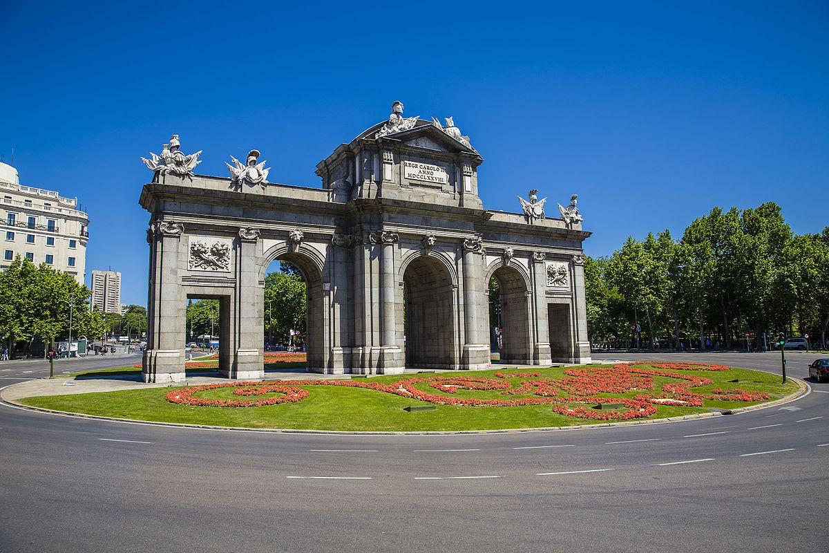 Puerta de alcal wikipedia - La chulapa de alcala madrid ...