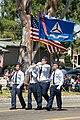 Civil Air Patrol Beach Cities Cadet Squadron 107 (CA) color guard.jpg