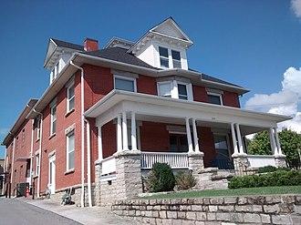 Clarke–Hobbs–Davidson House - Clarke–Hobbs–Davidson House, September 2014