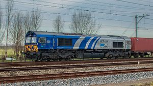 Co-Co locomotives - EMD Series 66