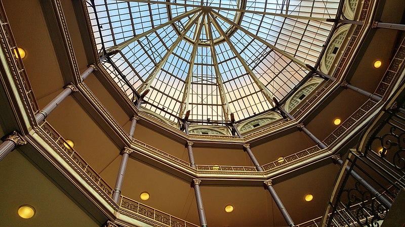 File:Cleveland Arcade skylight and upper floors.jpg