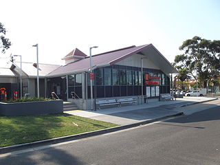 Cleveland railway station railway station in Brisbane, Queensland, Australia