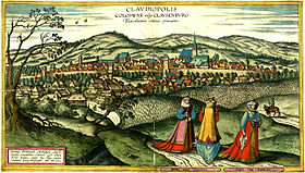 Cluj by Joris Hoefnagel, 1617 (v2).jpg
