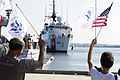Coast Guard Cutter Bear returns home 110929-G-ZV557-020.jpg